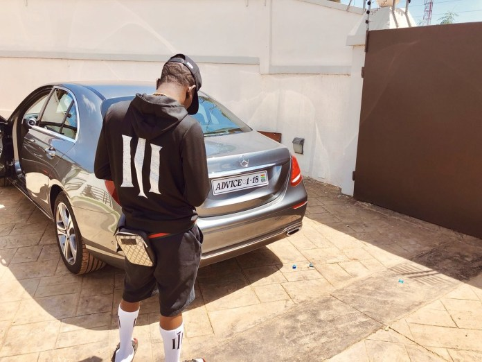 Shatta Wale Buys Himself A Brand New Benz Ahead Of His 34th Birthday 1