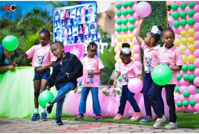 See How Apostle Suleman And Wife Celebrated Their Daughter's 1st Birthday 2