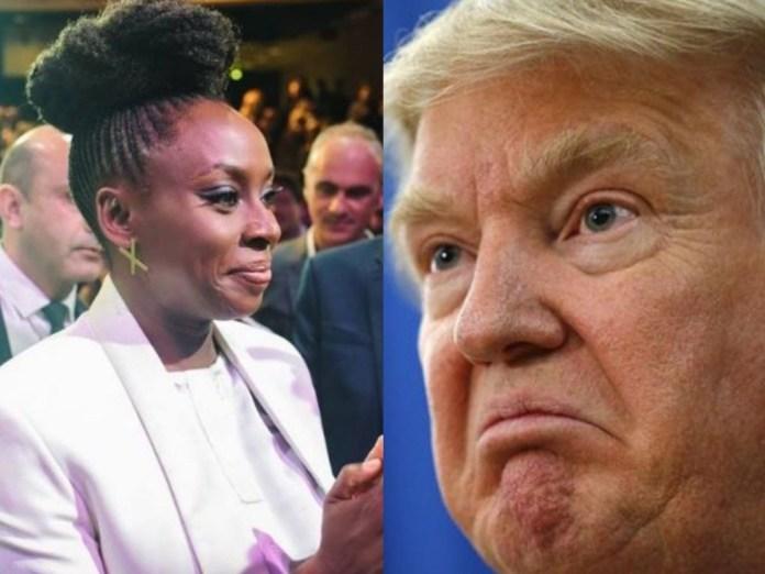 Trump Is A Stubbornly Ignorant Man - Chimamanda Adichie Says 1