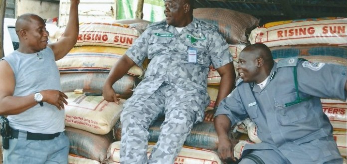 Customs Confiscates Rice & Other Goods Worth N65m 1