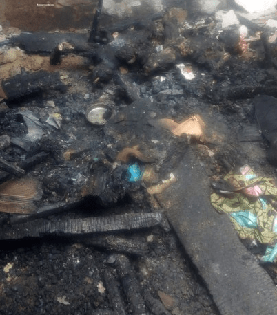 Twins Burnt To Death In Calabar After Mother Left Them To Meet Boyfriend 3