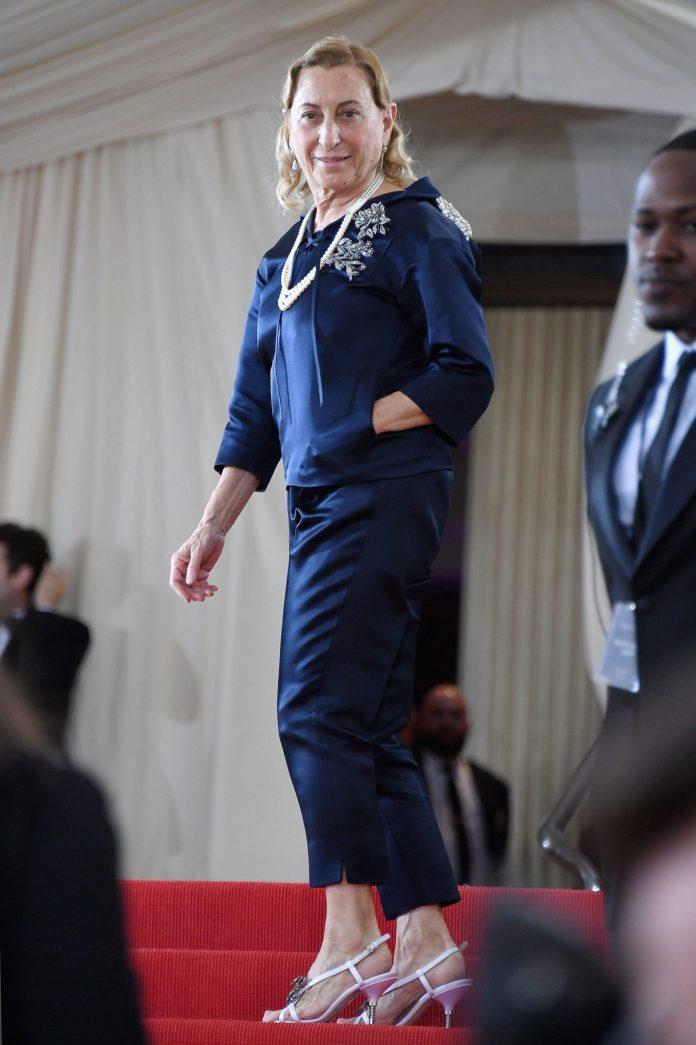 Miuccia Prada Set To Receive  Outstanding Achievement Awards At The 2018 Fashion Awards 2