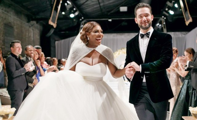 Serena Williams And Hubby, Alexis Ohanian Celebrates First Wedding Anniversary 1