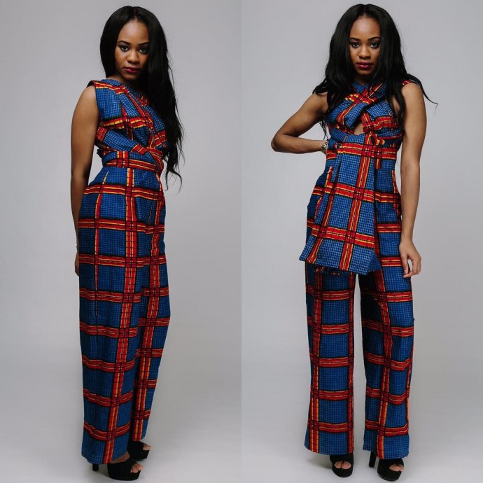 Ankara Style: 5 Chic Jumpsuit Design To Jump-start Your Week 4