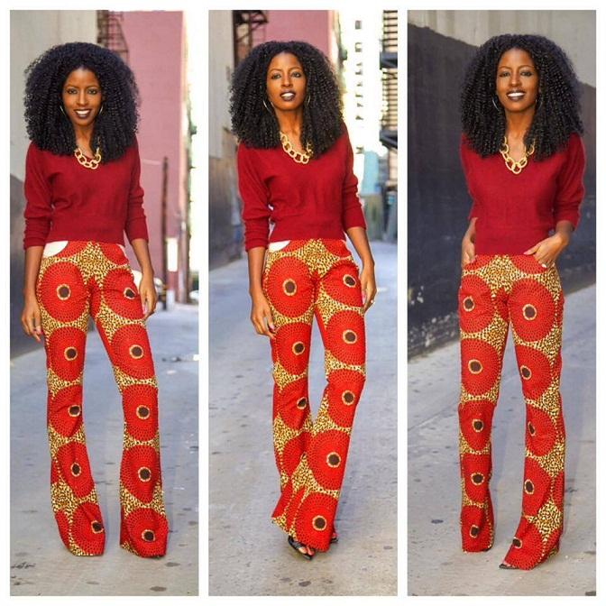 Ankara Style: Turn Heads In Stunning Vibrant Trouser Designs 3