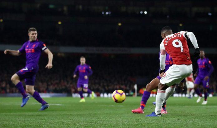 Arsenal 1 Liverpool 1: Alexandre Lacazette Wonder Strike Earn Gunners A Point After James Milner's Opener 1