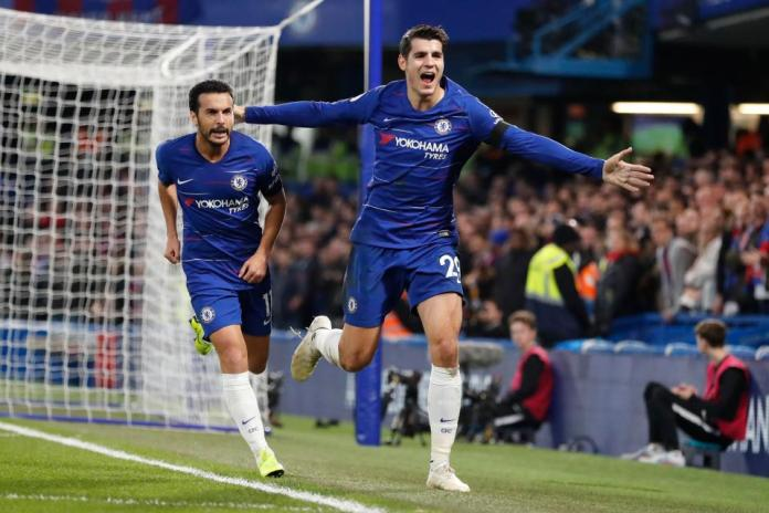 Chelsea 3 Crystal Palace 1: Alvaro Morata Scores Double To Sink The Eagles At Stamford Bridge 3