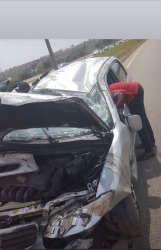 Two DJs Miraculously Survive Ghastly Accident In Abuja 3