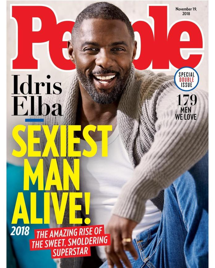 Hollywood Hunk Idris Elba Named Sexiest Man Alive 1