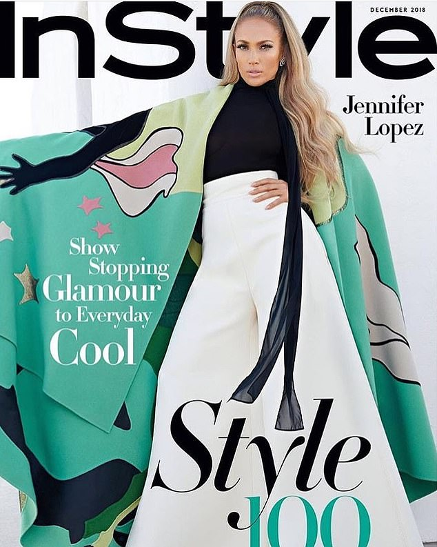 Flawless! Jennifer Lopez Poses Nude For InStyle Magazine December Issue  3