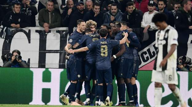 Juventus 1 - 2 Manchester United: Dramatic Late Goals Give Red Devils Victory In Turin 5