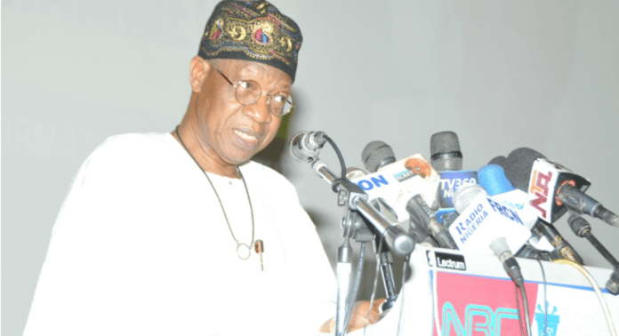 """O To Ge!"" Never Again Will Kwarans Be Treated Like Slaves In Their Own Land - Lai Mohammed 1"