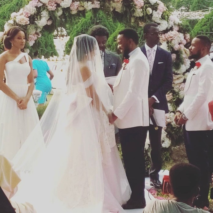 The Insider: Exclusive Photos From The White Wedding Of Linda Ejiofor 2