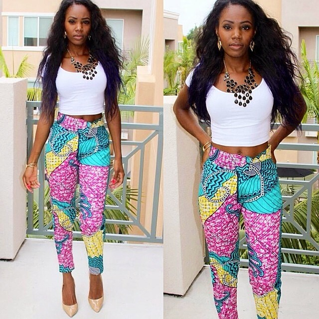 Ankara Style: Turn Heads In Stunning Vibrant Trouser Designs 5
