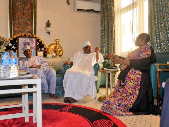 #Fight4Naija! Oby Ezekwesili Visits IBB...Eulogises Late Maryam Babangida's Legacy 1