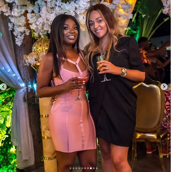 The Insider: All The Glam, Gifts And Celebs At Toke Makinwa's Birthday Dinner Party 8