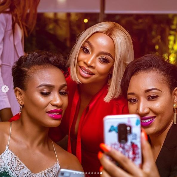 The Insider: All The Glam, Gifts And Celebs At Toke Makinwa's Birthday Dinner Party 9