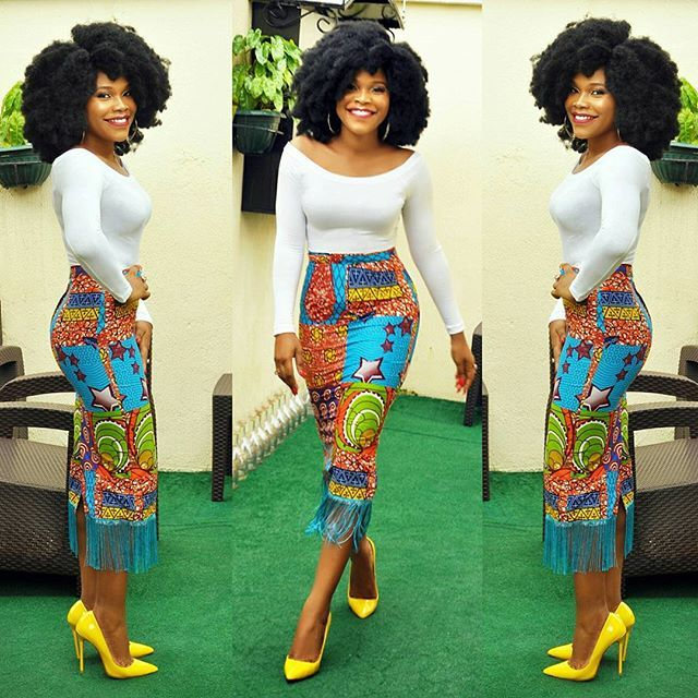 Ankara Style: Stunningly Chic Mix and Match Styles For Beautiful Ladies 2