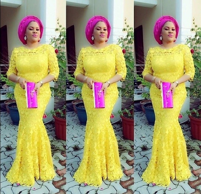 Aso Ebi Style: Step Out In Yellow And Embrace Your Sunny Bright Beauty 1