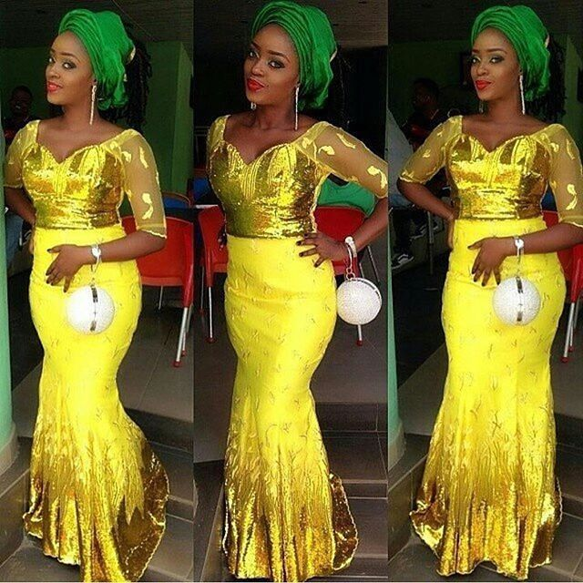 Aso Ebi Style: Step Out In Yellow And Embrace Your Sunny Bright Beauty 3