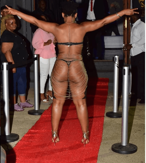 Unbelievable! You Won't Believe How South Africa's Zodwa Wabantu Stormed An Event 1