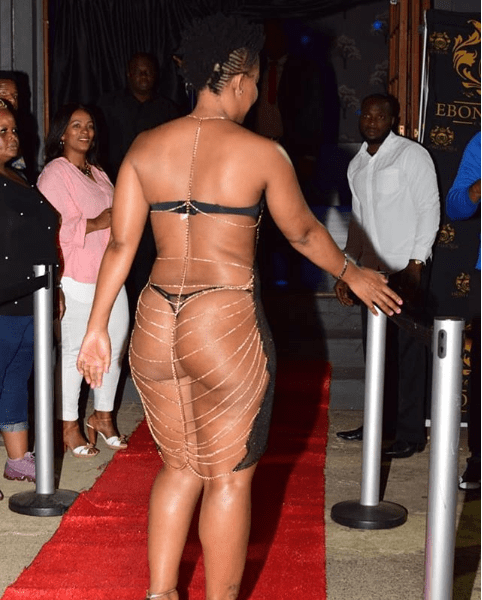 Unbelievable! You Won't Believe How South Africa's Zodwa Wabantu Stormed An Event 3
