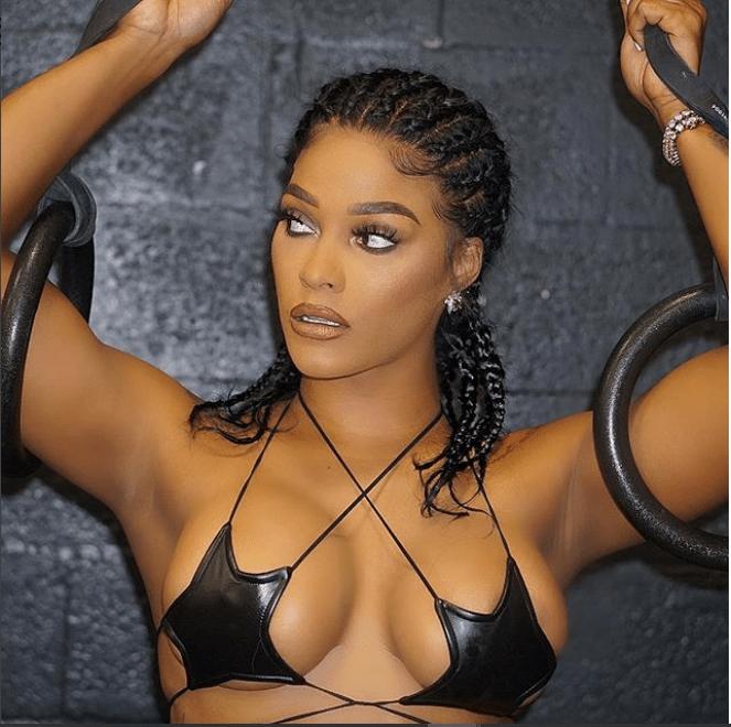 Va Va Voom! Joesline Hernandez Flashes Her Nipples And Butt In Super Hot Photos 4