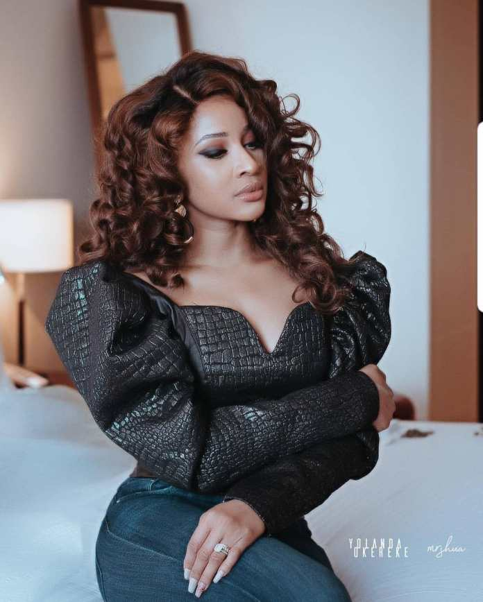 Nigeria To The World! Adesua Etomi Graces Vogue April Issue As They Celebrate Global Talent 2