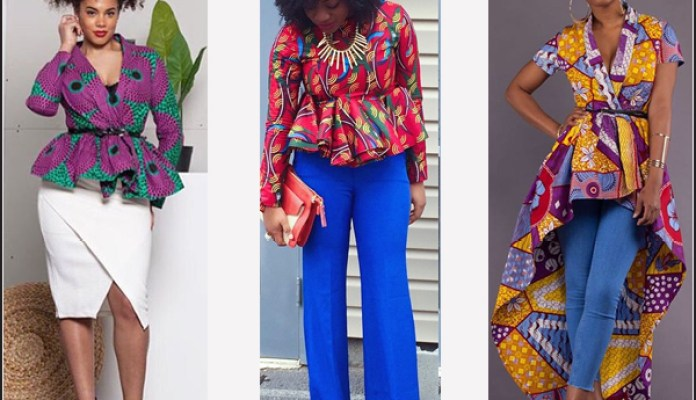 Ankara Style: Step Out In Style With These Trending Ankara Top-on-Jeans Designs For Your Outings 6