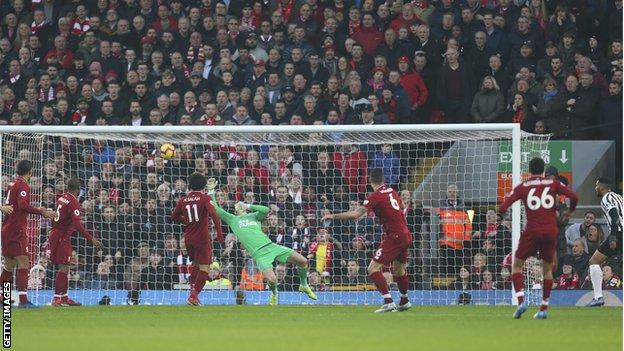 Liverpool	4 Newcastle 0: Reds Beat Magpies To Extend Premier League Lead 1