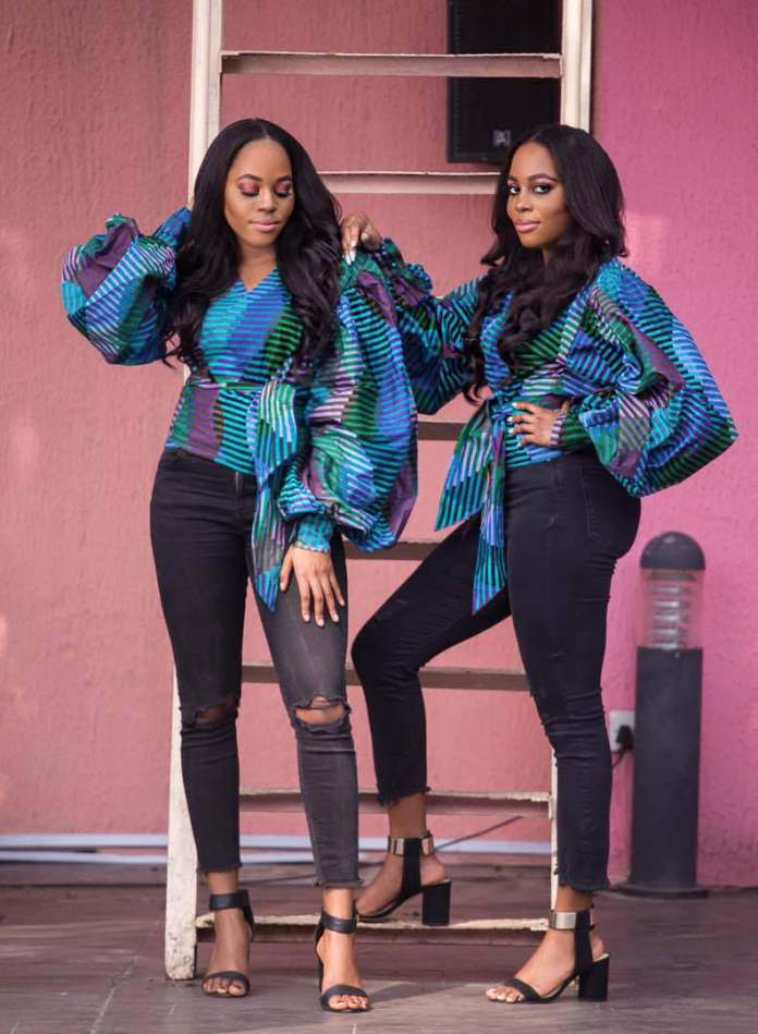 Ankara Style: Step Out In Style With These Trending Ankara Top-on-Jeans Designs For Your Outings 1