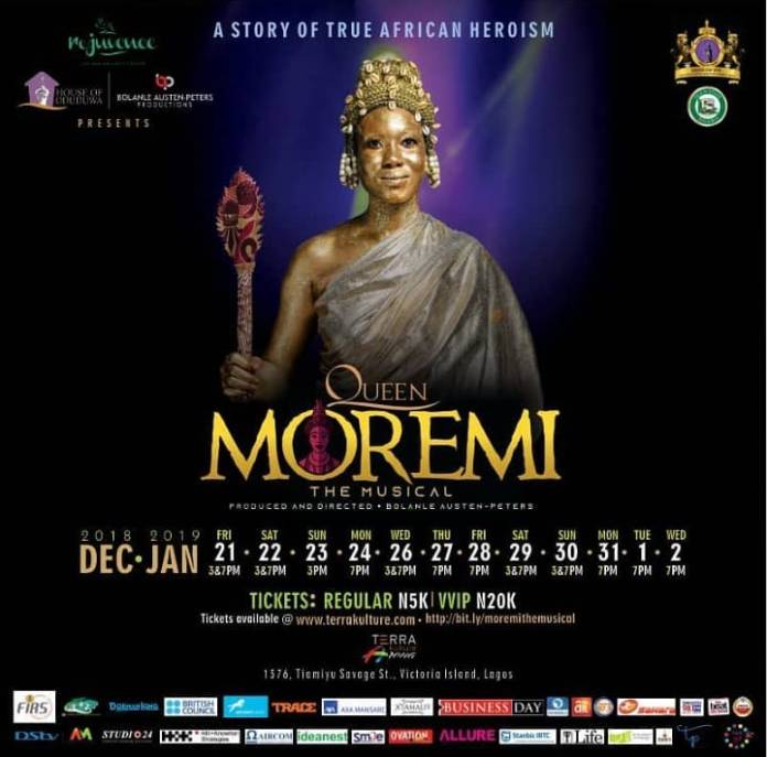 Giveaway: Win Free Tickets To See Queen Moremi The Musical 3