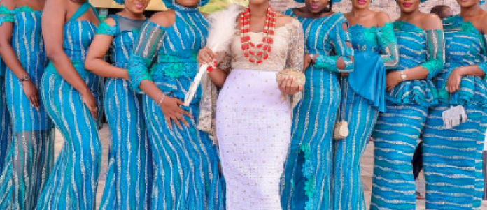 Aso Ebi Style: Slay At Your Next Owambe With These 4 Stunning Party-Ready Friend Styles 5