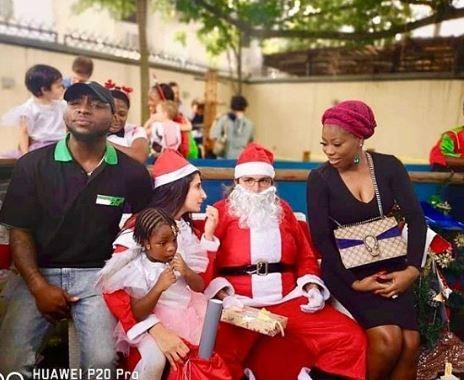 Awww! Davido And His Baby Mama Sophia Momodu Reunite For Daughter's School Party (Photos) 2