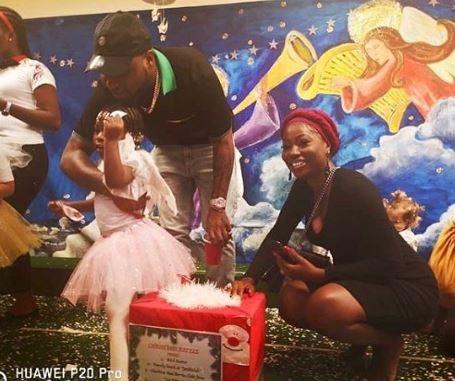 Awww! Davido And His Baby Mama Sophia Momodu Reunite For Daughter's School Party (Photos) 1