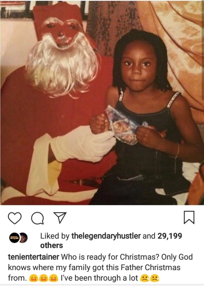 Lol! See The Hilarious Throwback Photo Teni Entertainer Just Shared 2