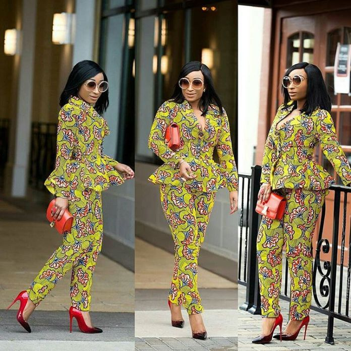 Ankara Style: Boss Up Your Fashion In These 5 Stunning Ankara Suits And Pants 4