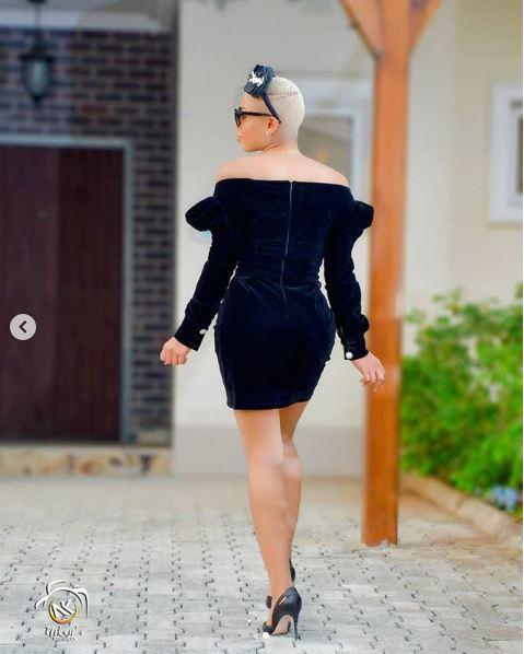 Style Stalking: BBnaija Nina Is A Beauty In Little Black Dress 2