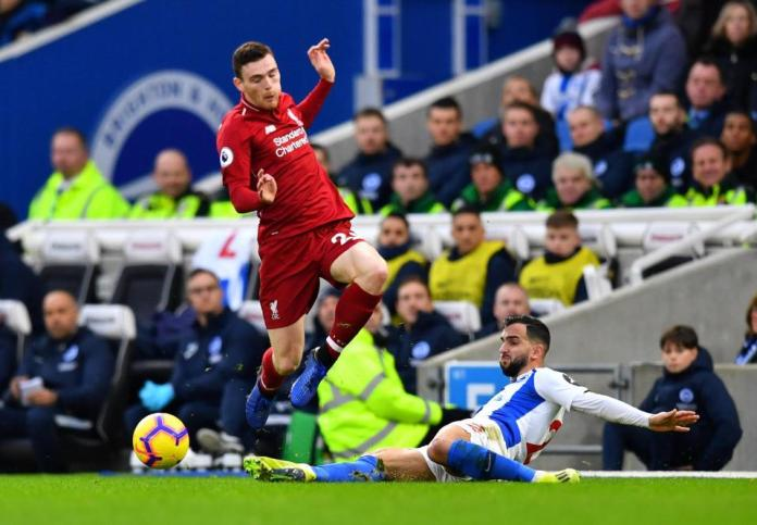 Brighton 0 Liverpool 1: Mo Salah's Penalty Extends Reds Lead At The Top of Premier League To 7 Points 3