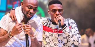 Blood... My Guy! Davido Reacts To Wizkid's Congratulatory Message