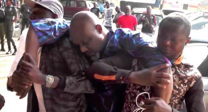 Just In: Dino Melaye Carted Away From The Police Clinic 3