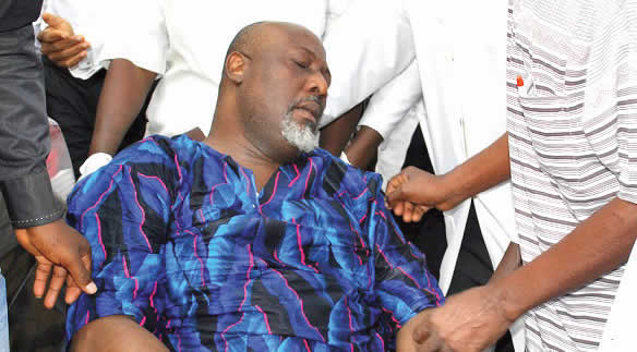 Just In: Dino Melaye Carted Away From The Police Clinic 2