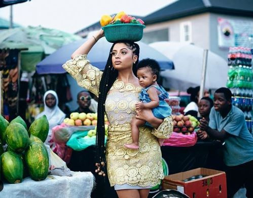 Lola Rae Releases Stunning Images Of Herself And Daughter Skye As She Turns A Year Older 2