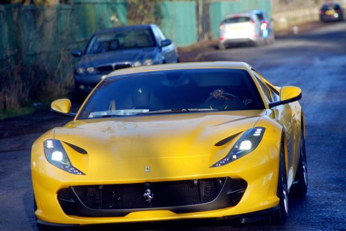 Paul Pogba Buys Brand New Ferrari $250,000, To Celebrate His New Born Baby 3