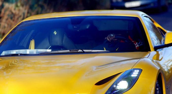 Paul Pogba Buys Brand New Ferrari $250,000, To Celebrate His New Born Baby 2