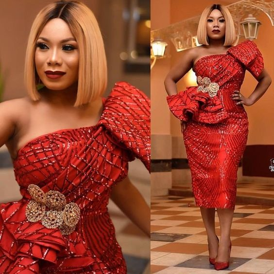 Aso-Ebi style: Channel Your Inner Stunning As You Rock These 5 Aso-ebi Styles 2