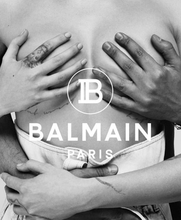 These Topless New Balmain Campaign By Cara Delevigne Will Leave You Speechless 2
