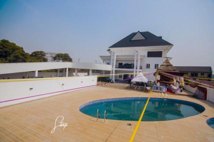 Checkout Stunning Images of Footballer Emmanuel Emenike's Newly Built Mansion 2