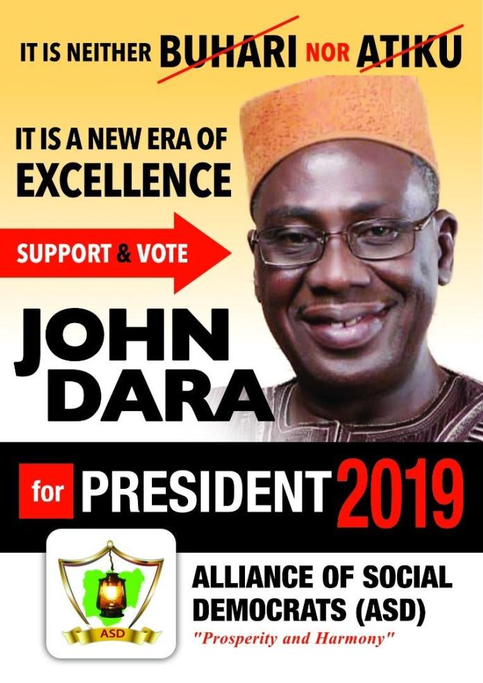 2019 Presidential Election: Meet Presidential Candidate, John Dara 3