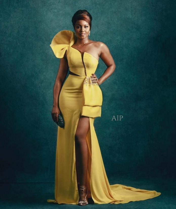 Aso Ebi Style: Five Times Osas Ighodaro Ajibade Sizzled In Stunning Styles 2